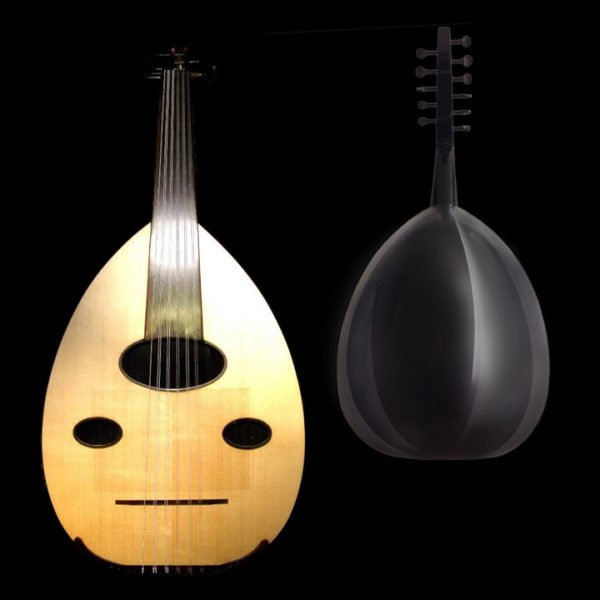 Oud instrument back and force