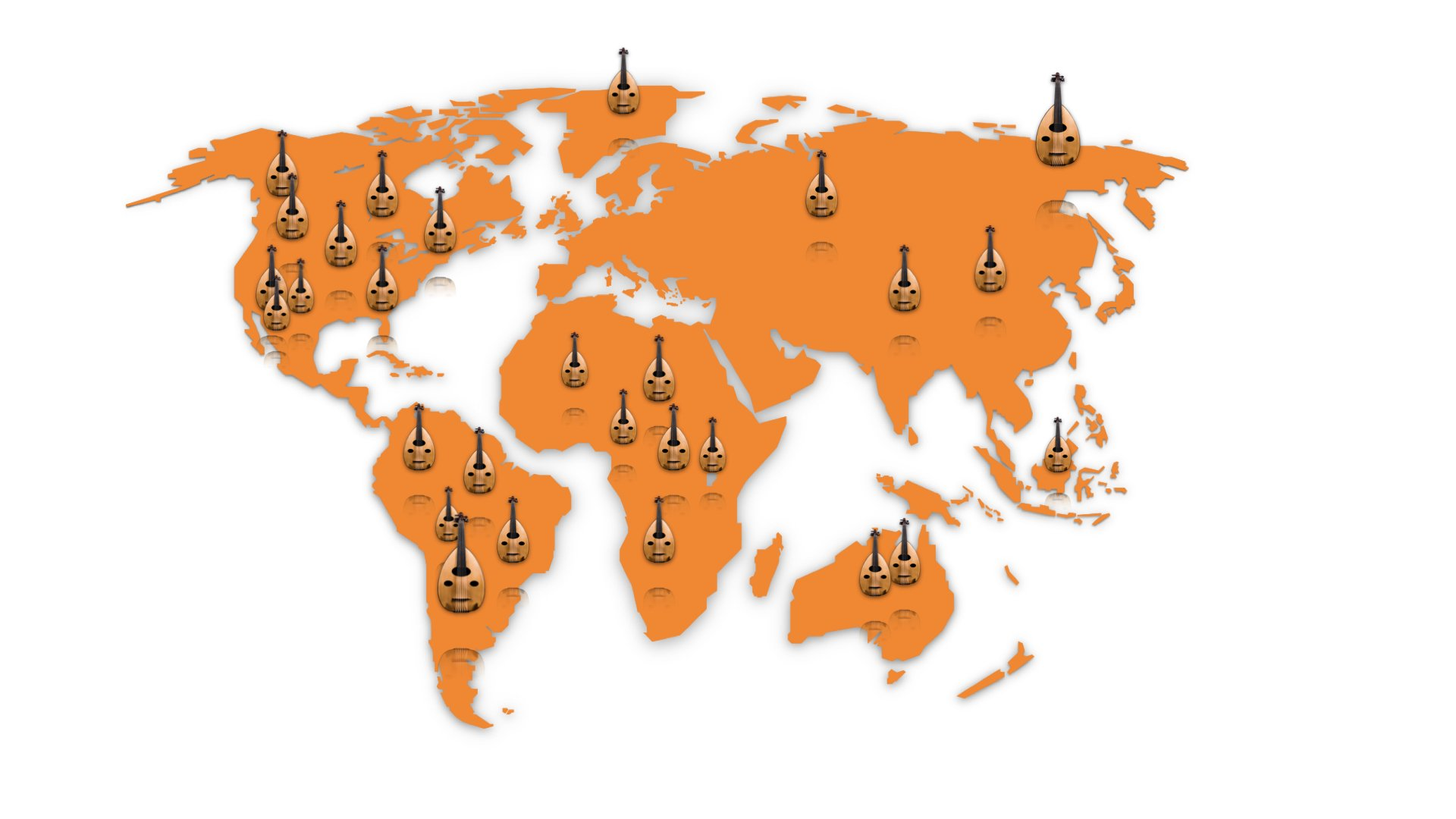 School of Oud Online - students from over 27 countries around the world