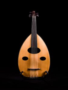 Oud Musical instrument - mastered measurements